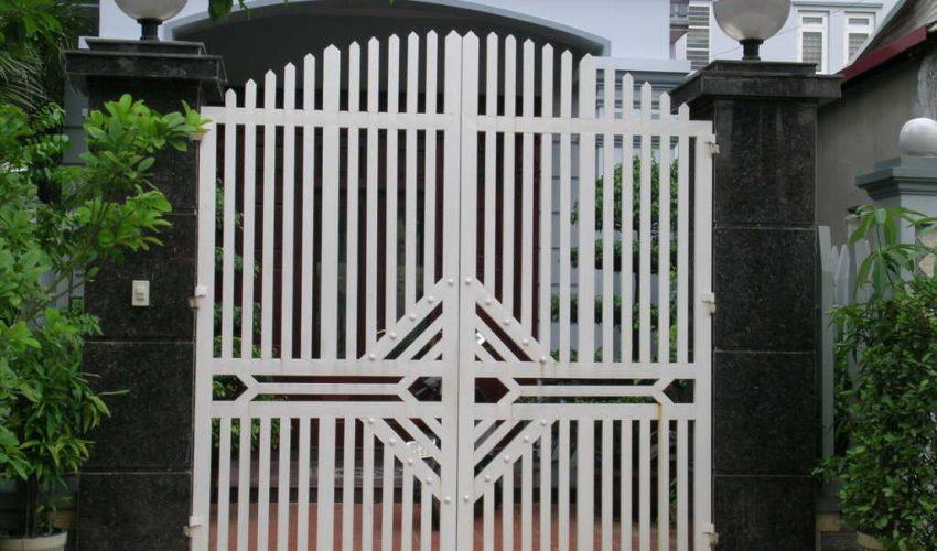 Cửa Cổng bằng sắt thép